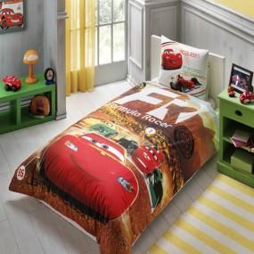 Lenjerie de pat copii TAC Disney - CARS LISANSLI