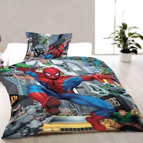 Lenjerie de pat copii bumbac SPIDERMAN 2