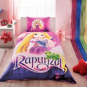 Lenjerie de pat copii TAC Disney - RAPUNZEL