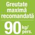 Saltea pat greutate maxima recomandata 90 kg